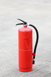 Firefighter equipment. A red firefighter equipment tool Stock Photography