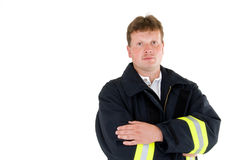 Firefighter or fireman Royalty Free Stock Image
