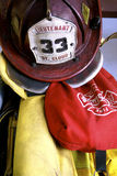 Firefighter gear Stock Image