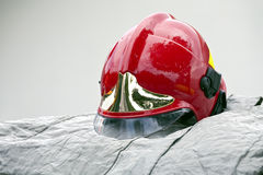 Firefighter helmet Royalty Free Stock Image