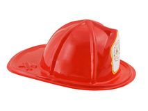 Firefighter Helmet. Isolated on a white background Royalty Free Stock Images
