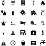 Firefighter icon set. The firefighter of icon set vector illustration