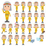 Firefighter man Royalty Free Stock Photography