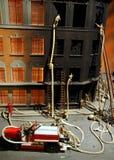 Firefighter model Stock Photography