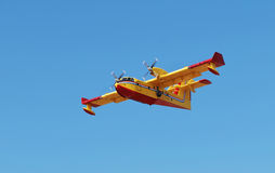 Firefighter plane Stock Photography
