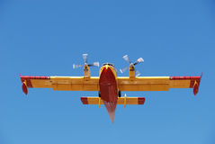 Firefighter plane Royalty Free Stock Image