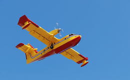 Firefighter plane Royalty Free Stock Images