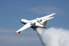 Firefighter plane Stock Image