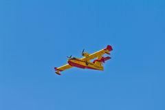 Firefighter Plane Royalty Free Stock Photography