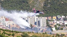 Firefighter Plane Stock Photos