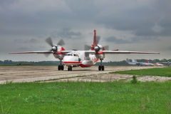 Firefighter plane Royalty Free Stock Photos