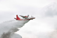 Firefighter plane Stock Images