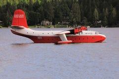 Firefighter plane. Stock Image