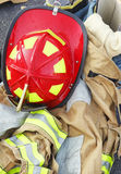 Firefighter's  Gear Royalty Free Stock Images