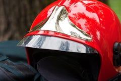 Firefighter's helmet Stock Photography