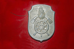 Firefighter symbol Royalty Free Stock Photos