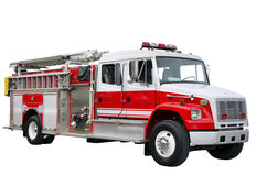 Firefighter truck Royalty Free Stock Images