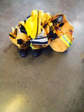 Firefighter Turnout Uniform royalty free stock image
