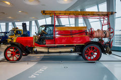 Firefighter vehicle Benz, 1912. Royalty Free Stock Photos