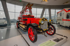Firefighter vehicle Benz, 1912 Royalty Free Stock Photos