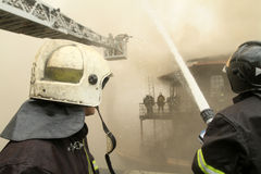 Firefighters Stock Photo