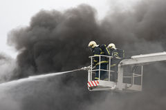 Firefighters royalty free stock image