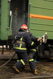 firefighters Στοκ φωτογραφία με δικαίωμα ελεύθερης χρήσης