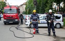 firefighters Στοκ εικόνες με δικαίωμα ελεύθερης χρήσης