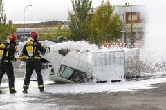 firefighters Στοκ Φωτογραφία