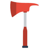 Firefighters emergency fire axe Royalty Free Stock Images