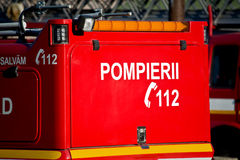 Firefighters 112 Royalty Free Stock Photos