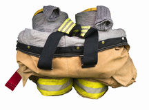 Firefighters Gear Royalty Free Stock Image