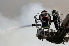 Firefighting Stock Photography
