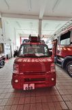 Firefighting apparatus Stock Image