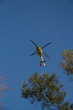 Firefighting helicopter Stock Photos