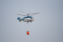 Firefighting Helicopter Royalty Free Stock Photo