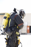Firefighting works Stock Photo