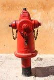 firefightinguttagvatten Royaltyfri Fotografi