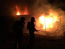 Firefigthers Στοκ Εικόνες
