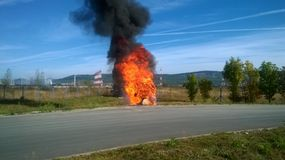 Firefire Fotografie Stock