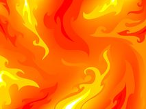 Fireflame pattern. Abstract background with fire flames Stock Photography
