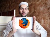 Firefox web browser logo royalty free stock photo