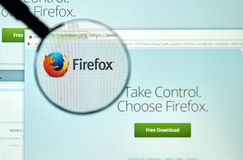 Firefox web browser. royalty free stock images
