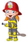 Firegirl Stock Image