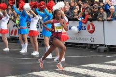 Firehiwot Dado - Prague marathon 2014 Stock Photography