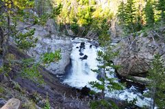 Firehole Falls Royalty Free Stock Photography