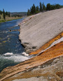 Firehole River. Yellowstone National Park, Wyoming Stock Photography