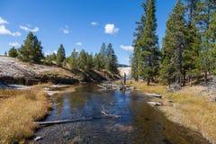 Firehole River Landscape Royalty Free Stock Photo