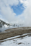 Firehole River, Midway Geyser Basin, Yellowstone NP Royalty Free Stock Image