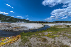 Firehole River Stock Image